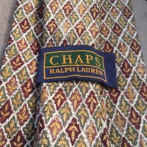 Chaps Ralph Lauren • Vintage Silk Pattern Tie